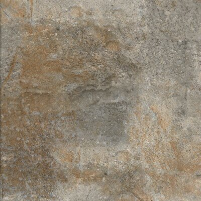 "Marazzi Forest Impressions 12"" x 12"" Field Tile in Green"