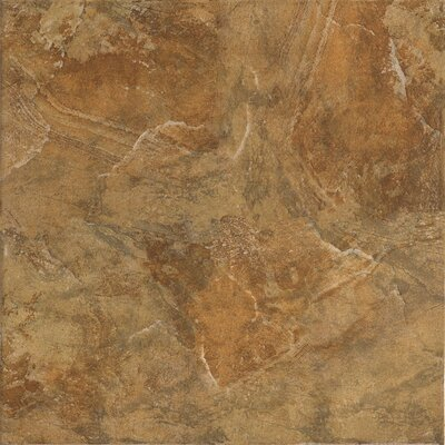 "Marazzi Imperial Slate 12"" x 12"" Field Tile in Tan"