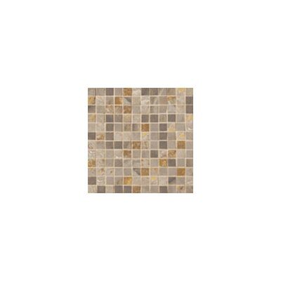"Marazzi Jade 13"" x 13"" Decorative Square Mosaic in Taupe"