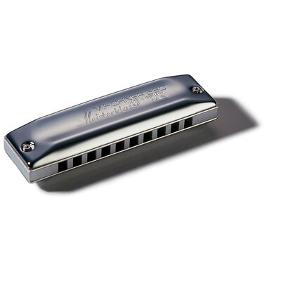 Hohner Meisterklasse MS Harmonica in Chrome - Key of C