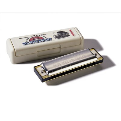 Hohner Big River Harp MS Harmonica in Chrome - Key of Db