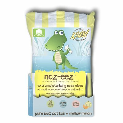Natural Essentials Natural Essentials Noz-Eez Mellow Melon Nose Wipes