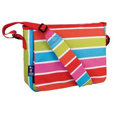 Wildkin Ashley Bright Stripes Kickstart Messenger Bag