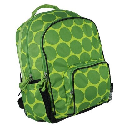 Wildkin Big Dots Large Backpack in Green