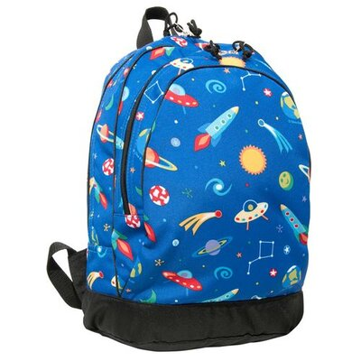 Wildkin Olive Kids Out of This World Backpack in Blue