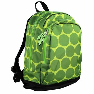 Big Dots Backpack in Green