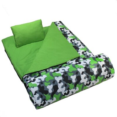 Wildkin Camouflage Sleeping Bag
