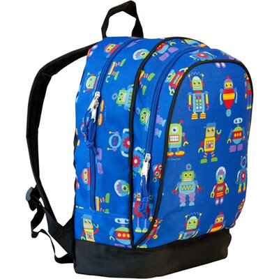 Wildkin Robots Olive Kids Sidekick Backpack