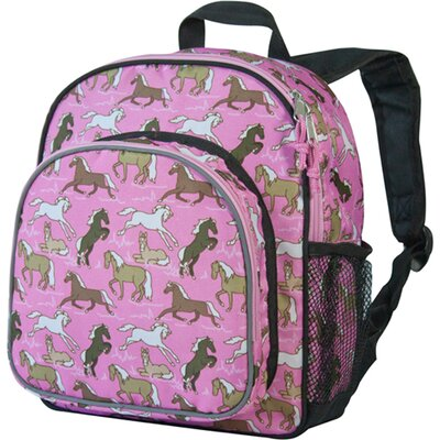 Horses in Pink Pack'n Snack Backpack
