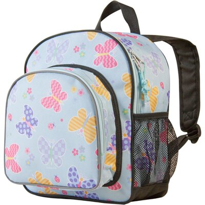 Wildkin Butterfly Garden Olive Kids Pack'n Snack Backpack