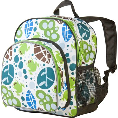 Wildkin Lily Frogs Pack'n Snack Backpack