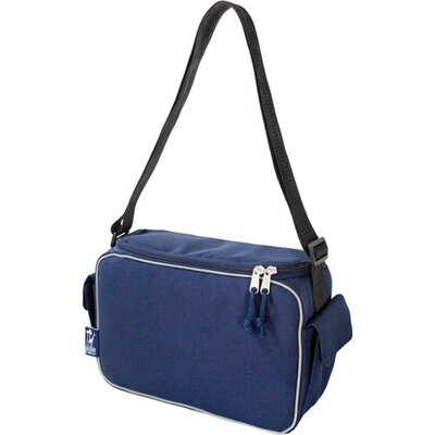Wildkin Solid Colors Lunch Cooler in Navy Blue
