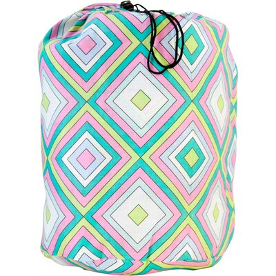 Wildkin Pink Retro Sleeping Bag