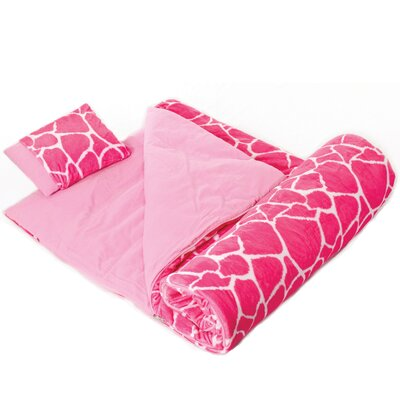 Ashley Giraffe Plush Sleeping Bag