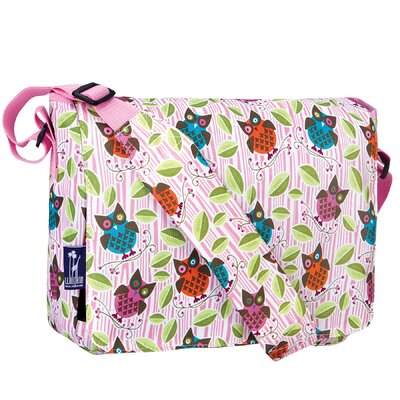 Wildkin Ashley Owls Kickstart Messenger Bag