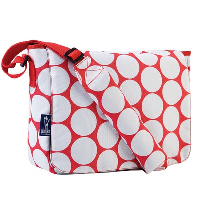 Wildkin Ashley Big Dot Kickstart Messenger Bag