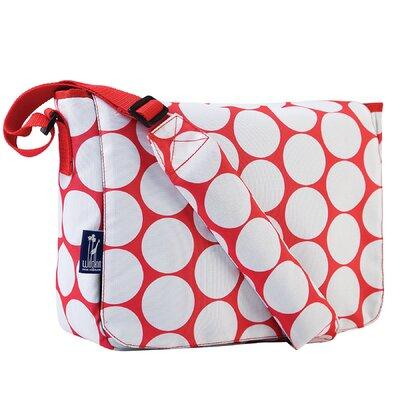Wildkin Ashley Big Dot Kickstart Messenger Bag