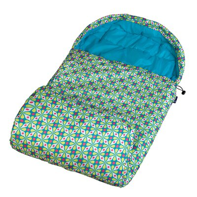 Wildkin Ashley Kaleidoscope Maize Stay Warm Sleeping Bag