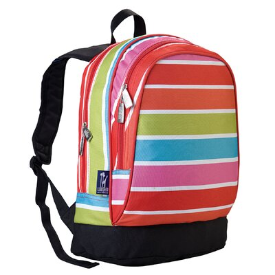 Wildkin Ashley Bright Stripes Sidekick Backpack