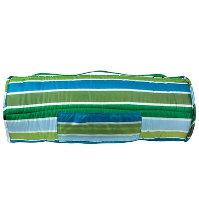 Wildkin Ashley Cool Stripes Easy Clean Nap Mat