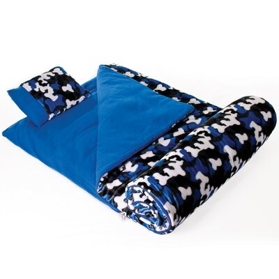 Ashley Camo Plush Sleeping Bag