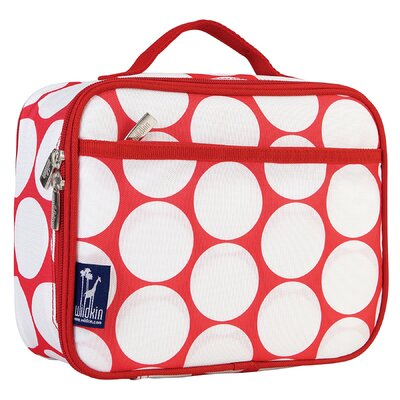Wildkin Ashley Big Dot Lunch Box