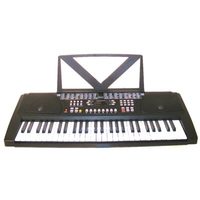Huntington Black 54-Key Electronic Keyboard