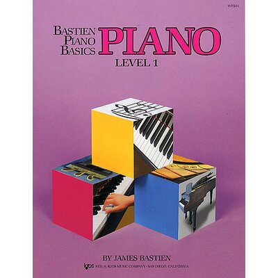 Neil A Kjos Music Company Bastien Piano Basics - Piano Level 1 Book