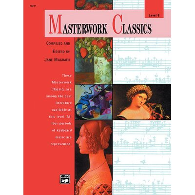 Alfred Publishing Company Masterwork Classics, Level 8