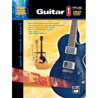 Alfred Publishing Company MAX Guitar 1 See It * Hear It * Play It