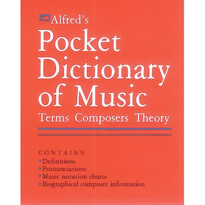 Alfred Publishing Company Pocket Dictionary of Music