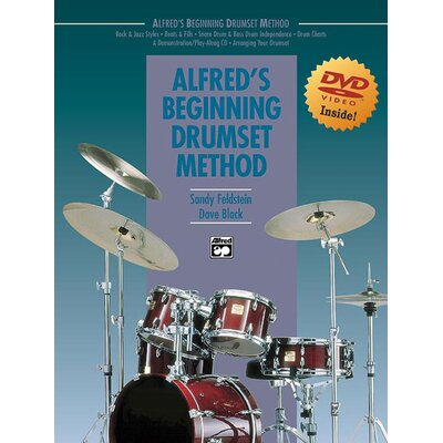 Alfred Publishing Company Beginning Drum Set Method (Book and DVD)