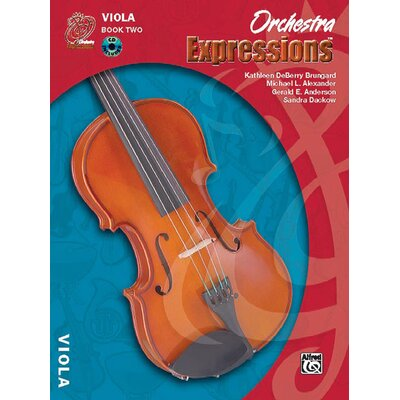 Alfred Publishing Company Orchestra Expressions™, Book Two: Student Edition Viola Book and CD 1