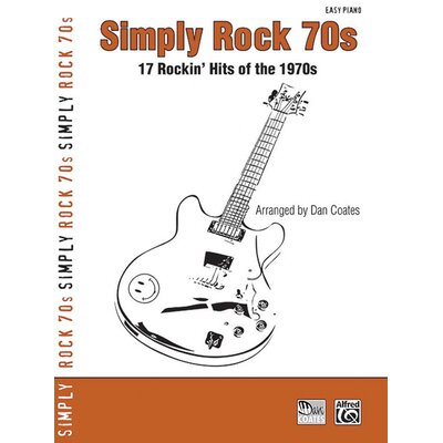 Alfred Publishing Company Simply Rock 70s