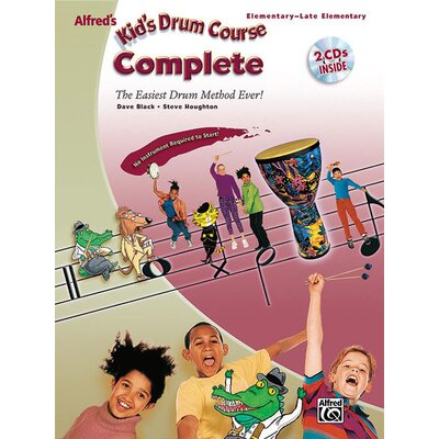 Alfred Publishing Company Kid's Drum Course Complete