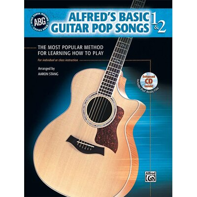 Alfred Publishing Company Basic Guitar Pop Songs 1 and 2