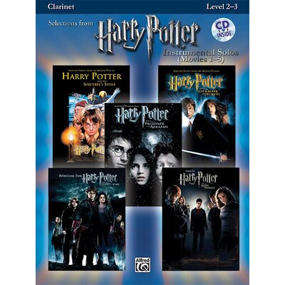 Alfred Publishing Company Harry Potter™ Instrumental Solos (Movies 1-5) (Book and CD)