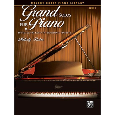 Alfred Publishing Company Grand Solos for Piano, Book 4 10 Pieces for Early Intermediate Pianists