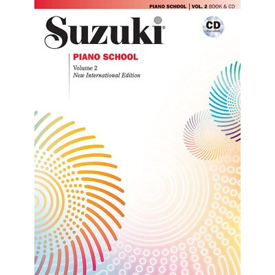Alfred Publishing Company Suzuki Piano School New International Edition Piano Book and CD, Volume 2