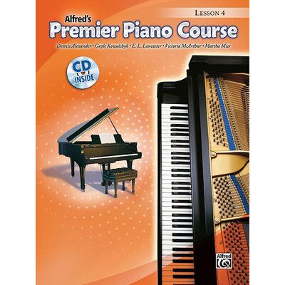 Alfred Publishing Company Premier Piano Course Lesson Book 4