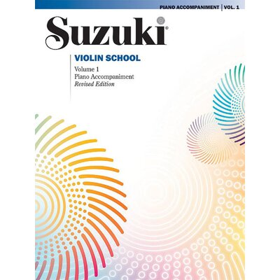 Alfred Publishing Company Suzuki Violin School Piano Acc., Volume 1