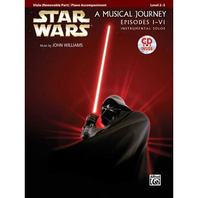 Alfred Publishing Company Star Wars® Instrumental Solos for Strings (Movies I-VI): Viola
