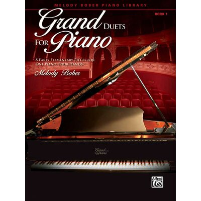 Alfred Publishing Company Grand Duets for Piano, Book 1