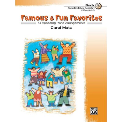 Alfred Publishing Company Famous and Fun Favorites, Book 3