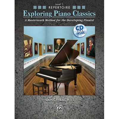 Alfred Publishing Company Exploring Piano Classics Repertoire, Level 1