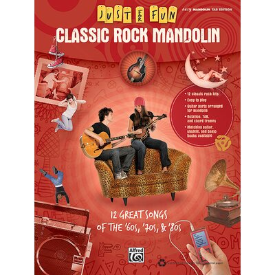 Alfred Publishing Company Just for Fun: Classic Rock Mandolin