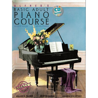 Alfred Publishing Company Basic Adult Piano Course: Lesson Level 3