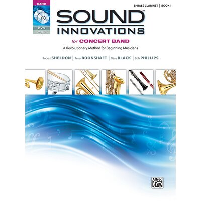 Alfred Publishing Company Sound Innovations for Concert Band, Book 1 B-Flat Bass Clarinet