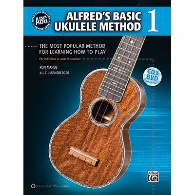 Alfred Publishing Company Basic Ukulele Method The Most Popular Method for Learning How to Play