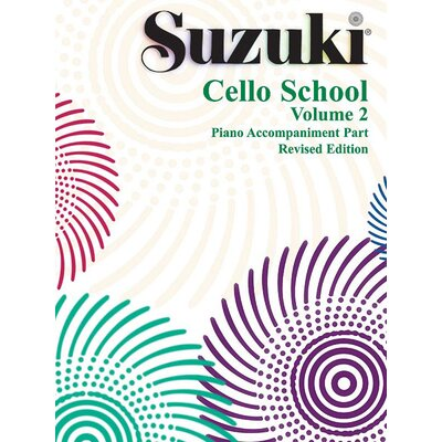 Alfred Publishing Company Suzuki Cello School Piano Acc., Volume 2
